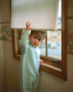 Cordless Shade For Child Safety